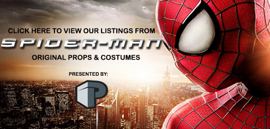 Spider-man Props and Costumes